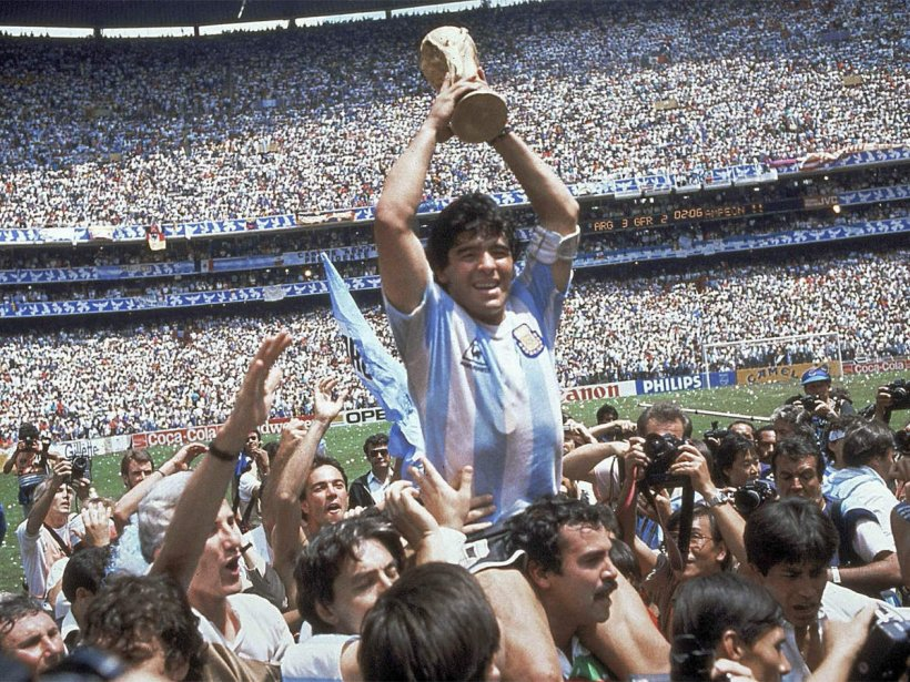 Diego Maradona, the Legendary Footballer dies aged 60