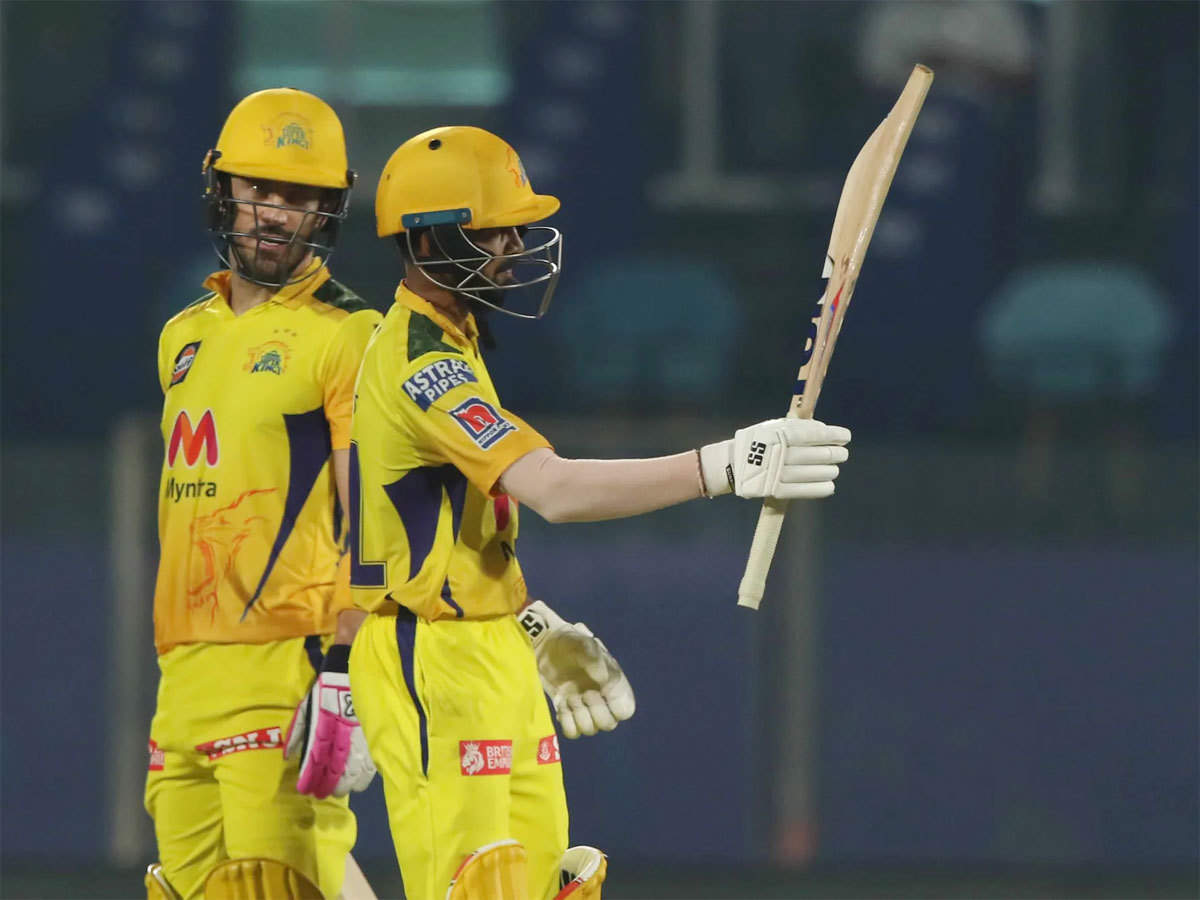 IPL 2021 : CSK vs SRH : Chennai Super Kings 5th consecutive win, defeats Hyderabad by 7 wickets