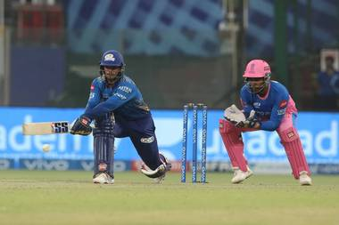 MI vs RR : Mumbai beats Rajasthan by 7 wickets, Quinton de Kock hit an unbeaten 70 runs