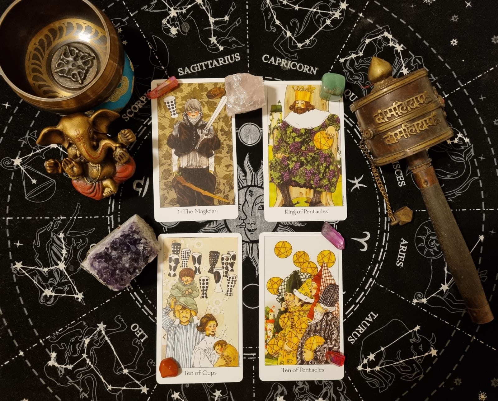 Spell for Financial Abundance
